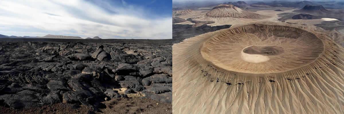 Scritto Nella Roccia - Shuwaymis - Harrat Khaybar e Vulcano