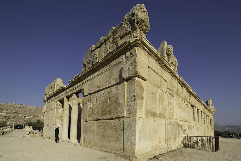Scritto Nella Roccia - Tayma - Palazzo di Qasr Al-Ablaq